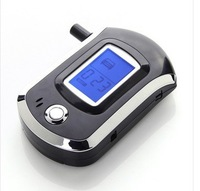 Prefessional Mini Police Digital LCD Breath Alcohol Tester Breathalyzer Freeshipping