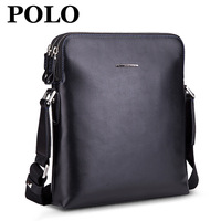 Commercial polo2013 fashion man bag first layer of cowhide male bag messenger bag