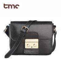 2013 women's handbag black vintage first layer of cowhide messenger bag one shoulder genuine leather women's shoulder bag