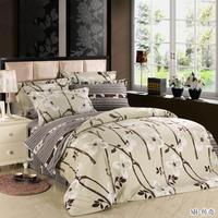 100% cotton four piece set cotton 4 100% slanting stripe print princess 1.8 bedding