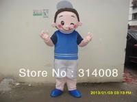 Adout mascot costume boy  Cartoon costume boy mascot Costume free shipping