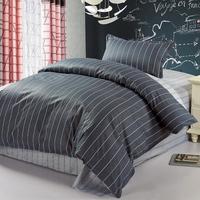 Flower home textile bedding single male 100% cotton bed sheets cotton piece set