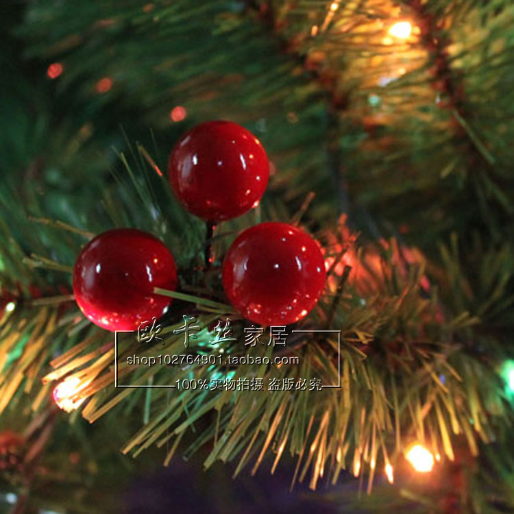 Red Berry Christmas Tree Decorations : Popular red berry garland from china best selling