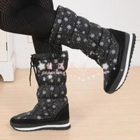 2013 berber fleece snow boots vivi waterproof women's slip-resistant shoes