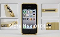 free shipping Bamboo wooden Case Cover style Case bag For iPhone 5 5c 5s