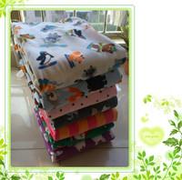 End of a single polar fleece fabric blanket thickening fleece blanket bed sheets sofa towel 2