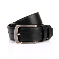 Septwolves China Top Brand Genuine Leather Belts Men's Pin Buckle Strap Cowhide belt 7A127234000 Free Shipping
