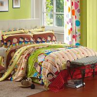 Pillow aloe vera home textile cotton piece set bedding sheets duvet cover 4 a7
