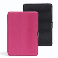 50Pcs/Lot Ultra-slim PU Leather Kindle Paperwhite Case cover for Kindle Paperwhite 6 inch Smart cover 5 color free shipping DHL