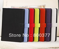1Pcs Only, Fashion PU Leather Colorful Soft Case, for ipad Air Case, Best PU Case for ipad air, High Quality