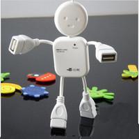 Cartoon splitter usb2.0 expander usp computer line hub yituo four interface