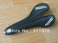2013 new black 3k  sup saddle carbon bike Bicycle light weight saddle cushion 105g