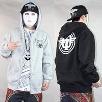 hoodie pullover hood sweatshirt coat Zipper 2013 winter autumn hip hop hiphop brand M-XXXL black/red/gray men women