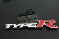 Mix Order Metal TYPER Car Grille Emblem Stainless Steel Auto Front Badge Front Emblems Grill Badges Miss Cherry