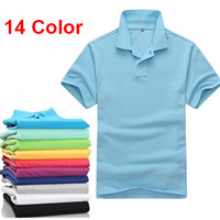 12 Color big size 2013 Summer Fashion Polo T Shirt Men Shirts For Mens Casual T Shirts Men's brand T-Shirt  Sport Tshirt Polos