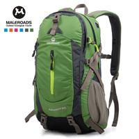 Men Women outdoor backpack travel backpack  waterproof hiking mountaineering bag  free  shipping
