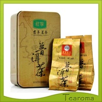 Free Shipping 66g/can 12 Bag Anthentic Cooked Puer Tea Royal Healthy Ripe Puerh Tea Loose Tea