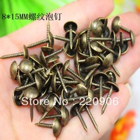Antique Glossy / sofa nail / nail decoration / round bubble nail / wood nail / thumbtack Wholesale 8 * 15MM