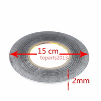 3M Sticker Tape Sticker Double Side Adhesive 2MM F NOKIA CELLPHONE LCD TOUCH Fix