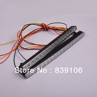 Free shipping  2 *18 LEDS Car Daytime Running lights 12&24V Auto led daytime running lights