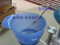 Hot oil bowl hair bowl brush oil treatment brush hair color hairdressing tool hair color cream mixer