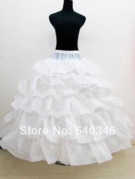CheapMulti-layer Свадьба Petticoat Slip Underskirt Crinoline For Свадьба Dress