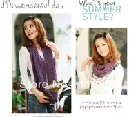 2013 south Korean new winter sweet corn knitting scarf collar Ms. Han edition wool scarf