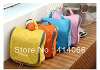 2013 Travel Check Waterproof Storage Cosmetic Bag Picnic Sorting Hanging Wash Bag Korea Make Up Organizer Case Free Shipping