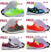 Free Shipping 2014 NEW Free Run 2 +3 Barefoot Running Shoes Hiking shoes Designer Men Women Sport Free Runs Sale Cheap Eur 36-45