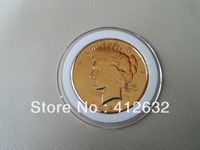 1922-S  Peace Dollar Gold  Coin FREE  SHIPPING