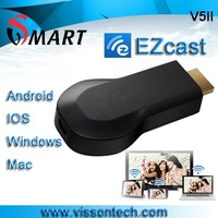 2013 Newest V5II EZCast Version 3 Miracast dongle dlna dongle EZMirror display more better than Chromecast  from manufacturer