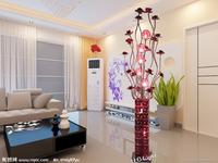 Modern fashion bedroom lights bed-lighting aluminum wire floor lamp vase wedding lights