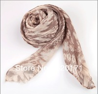 2013 Winter Vintage Scarf Style Double Color Tassel Long Towel  Wholesale