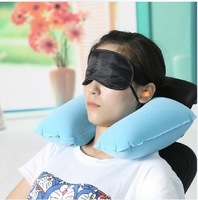 Car travel Sambo automotive supplies three-piece inflatable travel neck pillow U-