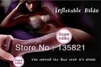 Factory Price Realistic Huge Inflatable Dildo,Women Masturbation Sex Toys Fake Penis,G Spot Vibrators Silicone Big Dick