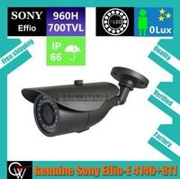 Genuine varifocal lens 4-9mm 36pcs IR Leds Sony Effio-E 960H CCD 700TVL IR Color Outdoor/Indoor CCTV Camera+Free Shipping