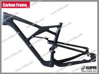 """Glossy/Matte carbon 29er  MTB frame suspension 15""""/17""""/19"""""""