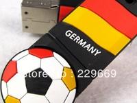 Free Shipping hot World Cup European Cup, Germany national football team logo, football team usb flash drive 1-32GB,  pendrive