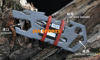 Tiremet titanium TC4 titanium tool, Decepticon titanium gear EDC gear(SKU12010247)