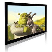 Customized Fixed Frame Projector Screen/Cinema Frame Screen /Projection Screen Fixed Frame/8CM Fixed Frame Screen