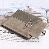 Hot Sale! New Men's Multi Function Vogue Pockets Purse Mens Canvas Army Green Tactical Card Wallet Best Price #L09246