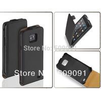 1pcs/lot New Arrival leather case for Samsung Galaxy S2 I9100 flip leather case cover for galaxy s2 i9100 flip leather handbag