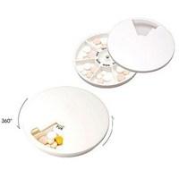 Airmail ship fashion Multicolour circle kit small portable kit pill storage box rotary kit  pill case dispenser