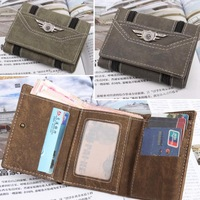 Every Day Carry Tactical Strike Tri-Fold Mens Tactical Wallet - 3 Colors Boys Comfortable Charming Wallet # L09245