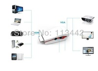 wholesale 10pcs/lot  high quality HDMI to VGA Video Converter Adapter + AV Audio Cable For PC PS3 HD TV