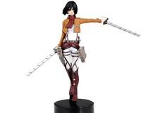 Anime PVC Attack on Titan Mikasa Ackerman Action Figure