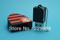 Wholesale free ship football club USB flash drive cute stitch pen drive silicone usb flash pendrive Clube de Regatas do Flamengo