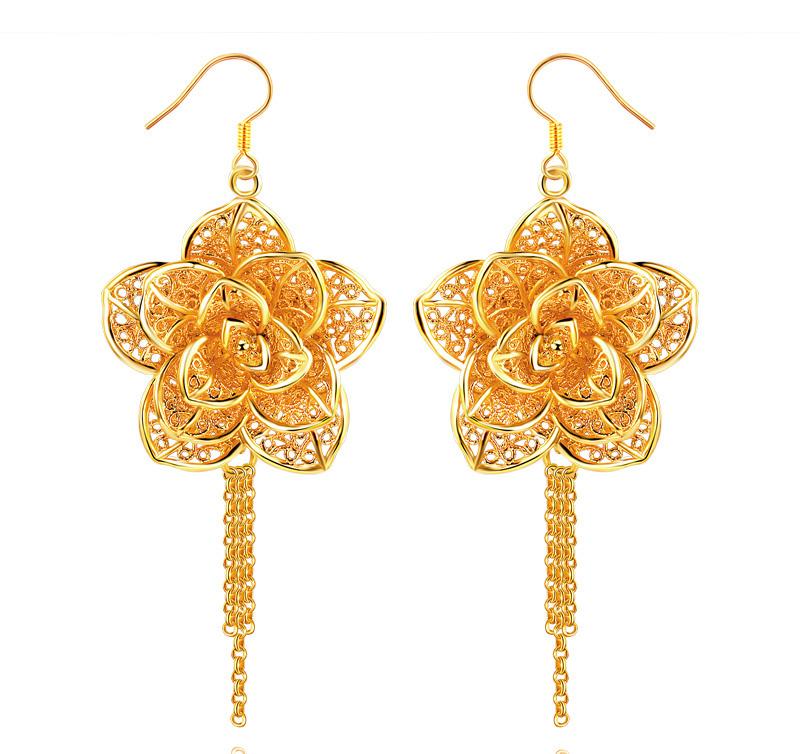 get cheap 24k gold earrings aliexpress