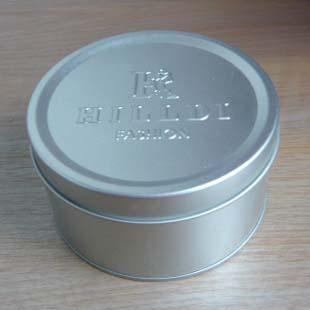 Embossed gift metal box promotional metal jar(China (Mainland))