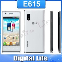 "LG E615 Optimus L5 Dual E615 original mobile phones 4.0"" capacitive touch screen  WIFI 3G Smart unlocked phone"